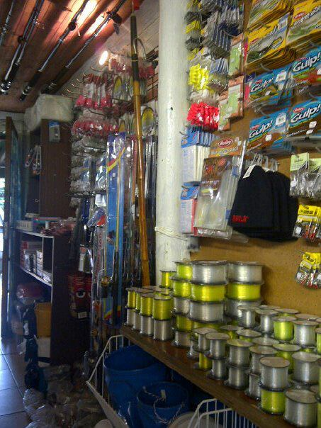 Fully Stocked Tackle shop -